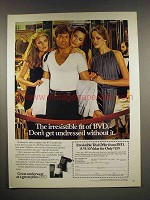 1980 BVD Underwear Ad - The Irresistible Fit