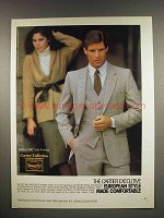 1980 Botany 500 Cartier Collection Suit Ad