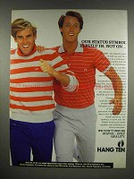 1983 Hang Ten Clothes Ad - Our Status Symbol