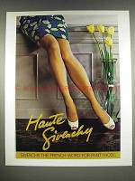 1986 Givenchy Pantyhose Ad - Haute Givenchy