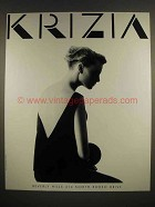 1987 Krizia Fashion Ad