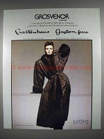 1987 Grosvenor Fur Ad