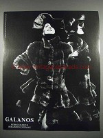 1987 Galanos Fur Coat Ad