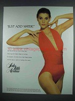 1988 Saks Fifth Avenue Yves Saint Laurent Swimsuit Ad