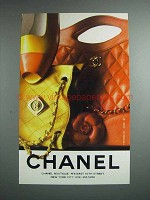 1989 Chanel Fashion Ad