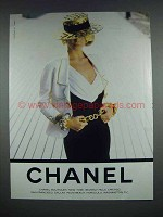 1990 Chanel Fashion Ad!