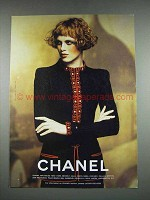 1997 Chanel Fashion Ad