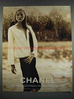 1999 Chanel Fashion Ad