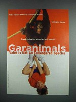 2000 Garanimals Fashion Ad - Orangutan