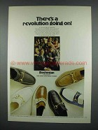 1971 Bostonian Unwinders Shoes Advertisement - A Revolution