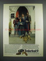 1979 Timberland Shoes Ad - Wouldn't Miss Sermon