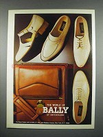 1979 Bally of Switzerland Ad - Shoes, Handbag