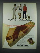 1982 Hush Puppies Sandals Ad - Anything Goes