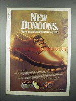 1988 Red Wing Shoes Ad - Dunoons