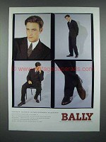 1993 Bally of Switzerland Footwear Shoes Ad