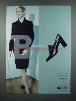 1997 Bally of Switzerland Shoe Ad - Beautiful