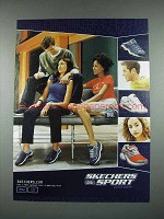2001 Skechers Sport Sneakers Shoe Ad