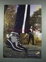 2004 Lady Foot Locker Timberland Boots Ad