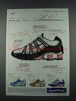2004 Finish Line Nike Shox Turbo Shoe Sneaker Ad - More Go