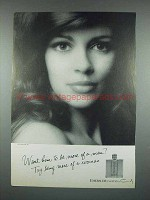 1970 Coty Emeraude Perfume Ad - Try Being More Woman