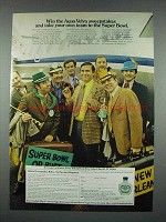 1971 Aqua Velva After Shave Ad - Take to Super Bowl