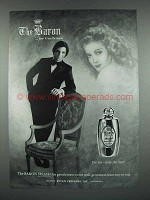 1973 Evyan The Baron Splash Cologne Ad - For Gentlemen