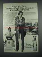 1977 Prince Matchabelli Catchet Perfume Ad - Different