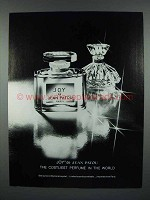 1979 Jean Patou Joy Perfume Ad - The Costliest