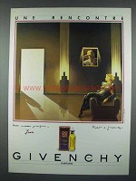 1984 Givenchy Ysatis Perfume Ad - Une Recontre