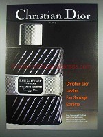 1984 Christian Dior Eau Sauvage Extreme Cologne Ad