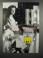 1989 Estee Lauder White Linen Perfume Advertisement