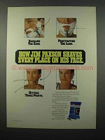 1990 Schick Slim Twin Disposable Razor Ad - Jim Paxson