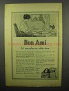 1914 Bon Ami Soap Ad - Marvelous on White Shoes