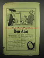 1914 Bon Ami Soap Ad - Cake or Powder, Madam?