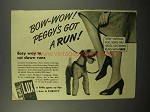1939 Lux Detergent Ad - Peggy's Got a Run!
