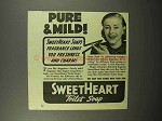 1940 SweetHeart Soap Ad - Pure