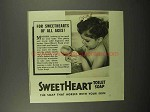 1940 SweetHeart Soap Ad - Sweethearts of all Ages