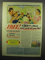 1940 Camay Soap, Oxydol Detergent Ad - Jingle Contest