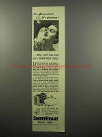 1942 SweetHeart Soap Ad - It's Glamorous!