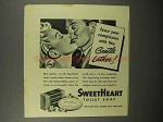 1943 SweetHeart Soap Ad - Gentle Lather