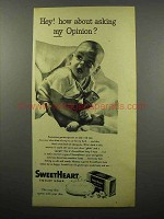 1944 SweetHeart Soap Ad - How About My Opinion?