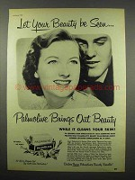 1951 Palmolive Soap Ad - Let Your Beauty be Seen