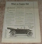 1913 REO the Fifth Car Ad, What Engine Did!!