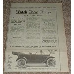 1913 Reo the Fifth Car Ad, Watch These Thing!