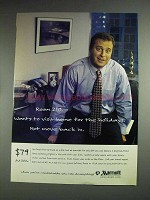 1997 Marriot Hotels Ad - Visit Home, Not Move Back In