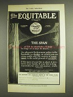 1904 The Equitable Life Assurance Ad - The Span