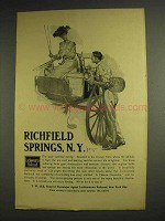 1904 Lackawanna Railroad Ad - Richfield Springs, NY