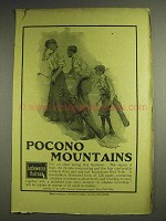 1904 Lackawanna Railroad Ad - Pocono Mountains