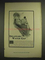 1904 Lackawanna Railroad Ad - Delaware Water Gap