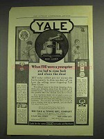 1914 Yale Door Closer Ad - When You Were a Youngster